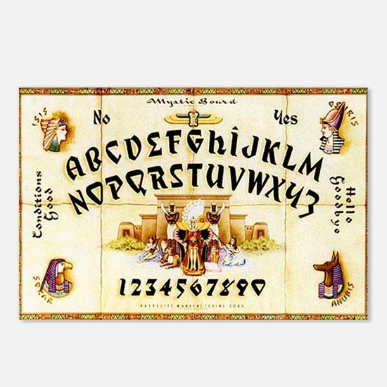 Vintage Egyptian Ouija Board Postcards (Package of