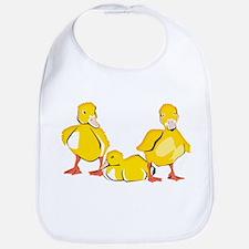 Trio of Ducklings Bib