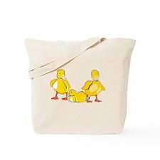 Trio of Ducklings Tote Bag