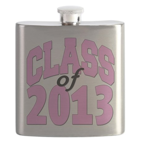 Class of 2013 Pink Flask
