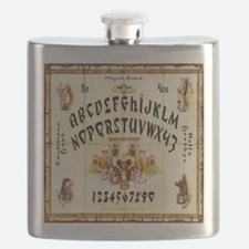 Vintage Egyptian Ouija Board Flask