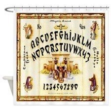 Vintage Egyptian Ouija Board Shower Curtain
