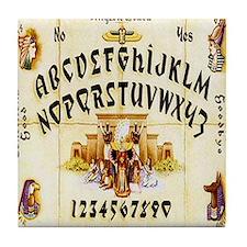 Vintage Egyptian Ouija Board Tile Coaster