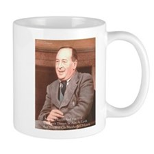 CS Lewis Aim At Heaven Quote Gifts Mug