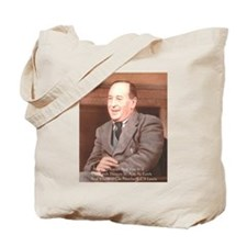 CS Lewis Aim At Heaven Quote Gifts Tote Bag