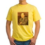 CS Lewis Aim At Heaven Quote Gifts Yellow T-Shirt