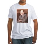 CS Lewis Aim At Heaven Quote Gifts Fitted T-Shirt