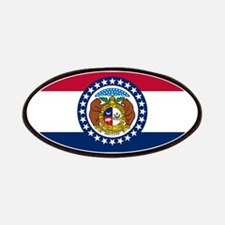 Missouri State Flag Patches
