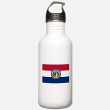 Missouri State Flag Water Bottle