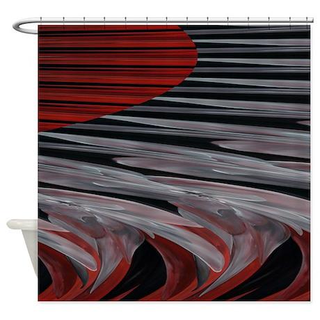 Contemporary Stripes Shower Curtain