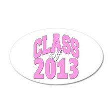Class of 2013 Pink Wall Decal