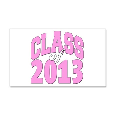 Class of 2013 Pink Car Magnet 20 x 12