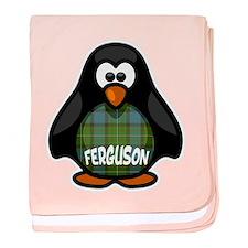 Ferguson Tartan Penguin baby blanket