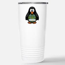 Ferguson Tartan Penguin Stainless Steel Travel Mug