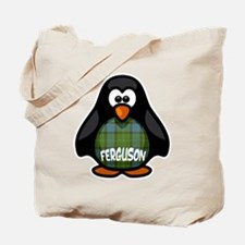 Ferguson Tartan Penguin Tote Bag
