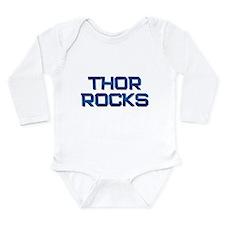 Cute I love thor Long Sleeve Infant Bodysuit