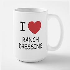 I heart ranch dressing Mug