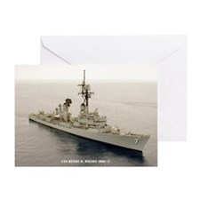 USS HENRY B. WILSON Greeting Card