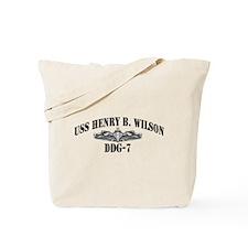 USS HENRY B. WILSON Tote Bag