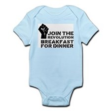 Revolution Breakfast For Dinner Infant Bodysuit