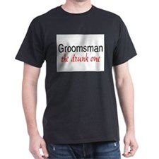groomsman drunk T-Shirt