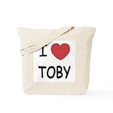 I heart TOBY Tote Bag