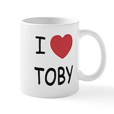 I heart TOBY Small Mug