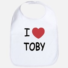 I heart TOBY Bib