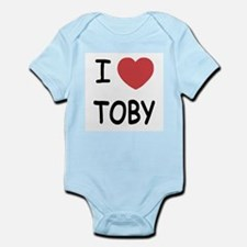 I heart TOBY Infant Bodysuit