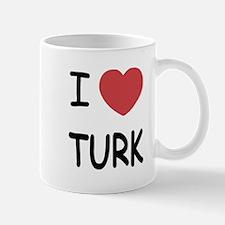 I heart TURK Mug