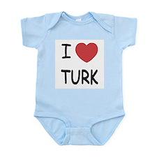 I heart TURK Infant Bodysuit