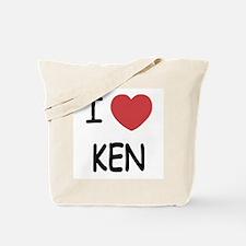 I heart KEN Tote Bag