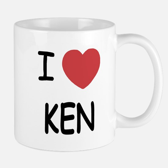I heart KEN Mug