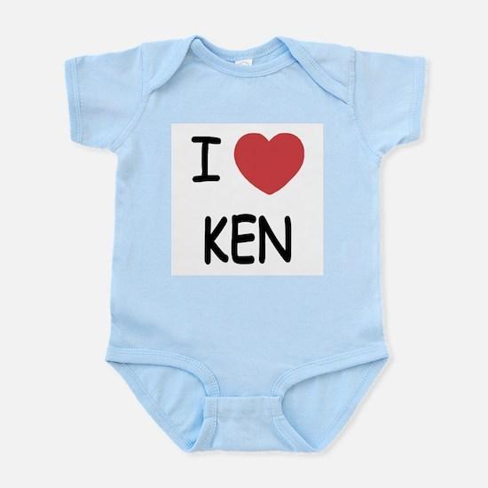 I heart KEN Infant Bodysuit