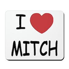 I heart MITCH Mousepad