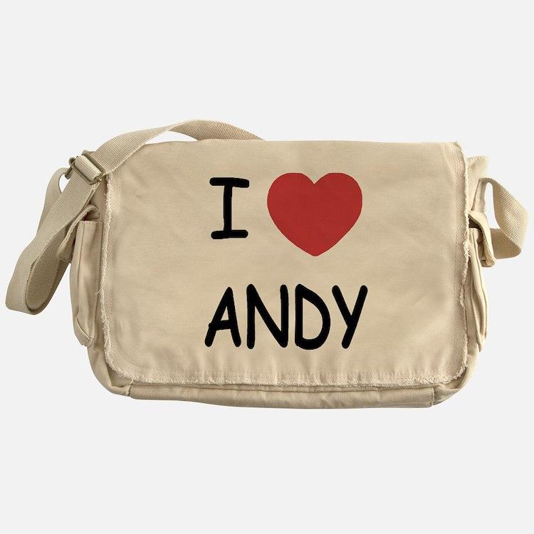 I heart ANDY Messenger Bag