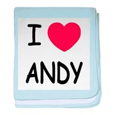 I heart ANDY baby blanket