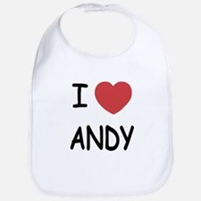 I heart ANDY Bib