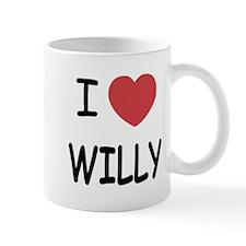 I heart WILLY Mug