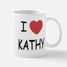I heart KATHY Mug