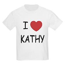 I heart KATHY T-Shirt