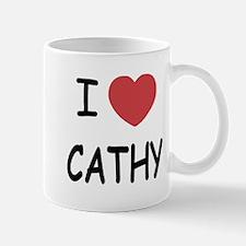 I heart CATHY Mug