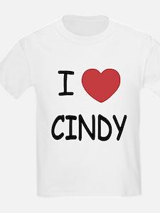 I heart CINDY T-Shirt