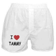 I heart TAMMY Boxer Shorts