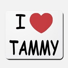 I heart TAMMY Mousepad