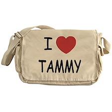 I heart TAMMY Messenger Bag