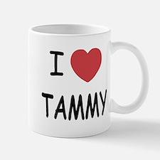 I heart TAMMY Mug