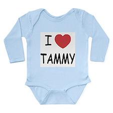 I heart TAMMY Long Sleeve Infant Bodysuit