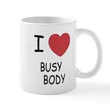 I heart BUSYBODY Mug