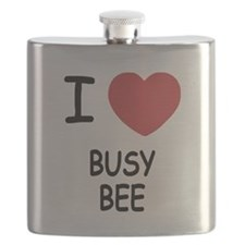 I heart BUSY BEE Flask